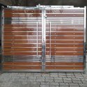 Stainless Steel Front Door