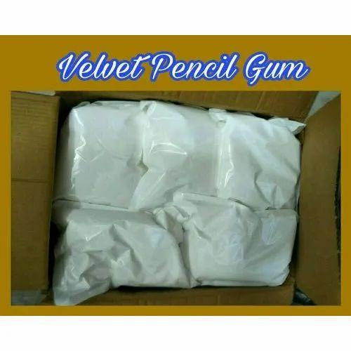 White Velvet Pencil Gum