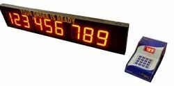 Token Display Systems For Restaurants, Hotels