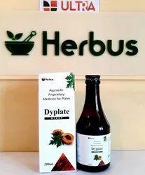 An Ayurvedic Blood Platelets Enhancer (Giloy Papaya Leaves Kiwi Tulsi Black Pepper ) Syrup