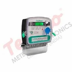Techno Three LT CT Operated Energy Meter for Commercial
