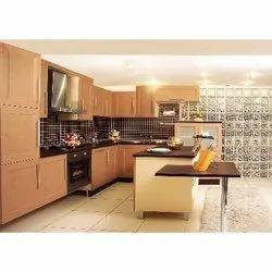Kaka Pvc Modular kitchen cabinet