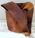 Vintage Leather Designer Hobo Bag