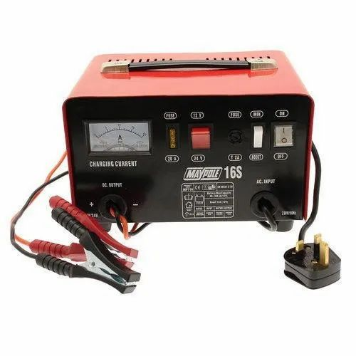 Electric Analog Sun Battery Charger, Input Voltage: 220 V, Battery Type: Lead Acid