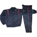 Black and Red Super Poly Men Tracksuit