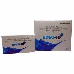 Coenzyme Q10 l Arginine Eicosapentaenoic Docosahexaenoic and Selenium Dioxide Softgel Capsule