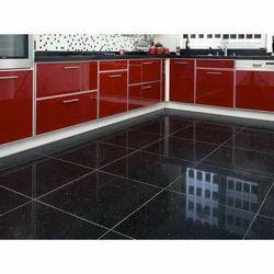 Black Granite Floor Tile