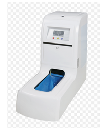 White Kwalitex Shoe Cover Automatic Dispenser