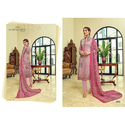 Ladies Cotton Printed Semi Stitched Suit