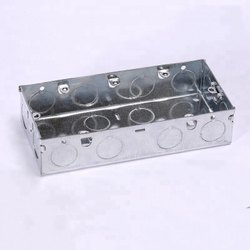 Galvanized MS Boxes for Electrical