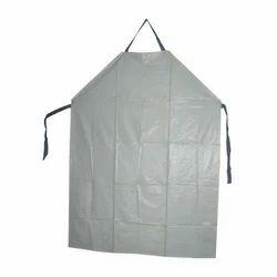 PE Blue COVID Plastic Cotton Apron, For Safety & Protection, Size: L120cm, W80cm
