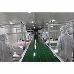 Pharma Assembly Line Conveyor