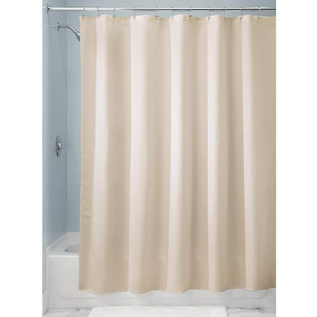 Interdesign Paxton Soft Fabric Shower Curtain Luxury Hotel