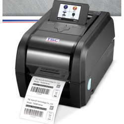Black TSC TX200 Desktop Thermal Transfer Barcode Printer, USB