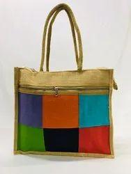 6 Box jute hand bag