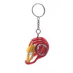 Aluminium Iron Man Head Keychain