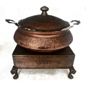 Smokey Finished Lagan Set with Heritage Chowki