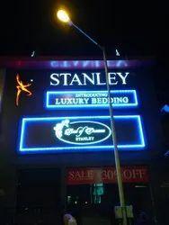 Acrylic Glow Sign Board