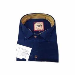 Plain Mens Fancy Shirt 40.0 And 44.0