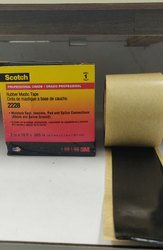 Black Single Sided 3M Scotch 2228 Tape for Electrical