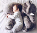 Large Plush Elephant Doll Kids Sleeping Soft Back