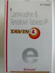 Lamivudine and Tenofovir Tablets IP