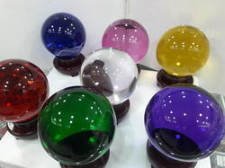 Colorful Crystal Glass Ball