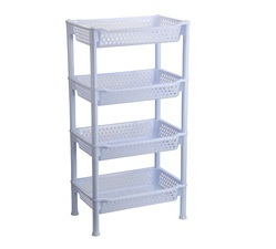 Plastic Multilayer Rack Big 4 Tier