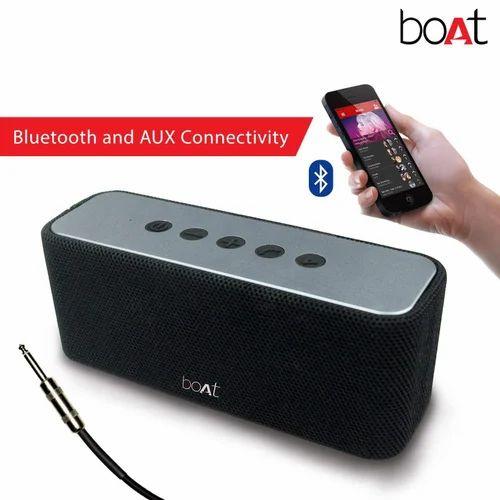 Boat Aavante 5 Wireless Bluetooth Speaker Best (Premium Black)