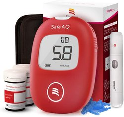 0.6-33.3 mmol/L Armediq Safe AQ Blood Glucose Monitoring System, For Hospital & CLinical & Personal