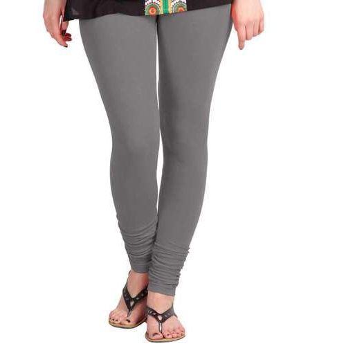 a1b17823bd Grey Plain Ladies Cotton Lycra Leggings, Size: Free Size, Rs 175 ...