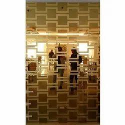 Plain Decorative Wall Glass