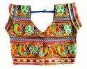 Indian Rayon Cotton Original Mirror Work Chaniya Choli - 32 Size - 10 to 12 Year