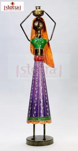 Tribal Woman Home Decorative Showpiece