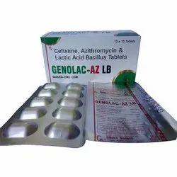 Genolac AZ LB Tablets (ALU-ALU)