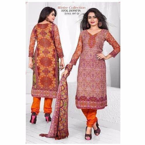 e4b417924b Chiffon Designer Winter Salwar Kameez, Rs 495 /piece, Rita Fashion ...