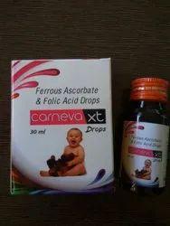Ferrous Ascorbate Folic Acid Drops
