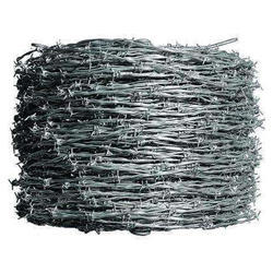 4mm Galvanized Barbed Wire