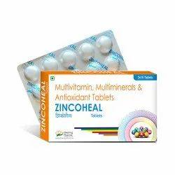 Zincoheal Tablet - Multivitamins , Multiminerals & Antioxidants