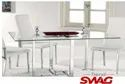Trend Swag Ss And Glass Conference Dining Table