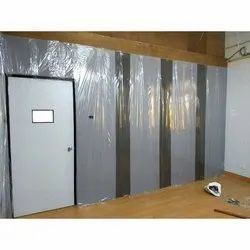 Hinged Wooden Acoustic Door, for studio/home theatre, Size/Dimension: 7x3