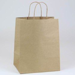 Brown Kraft Paper Shopping Bag