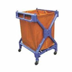 X Shape Laundry Cart (Plastic)