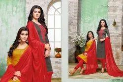 R R Fashion Hum Tum 13 Embroidered Salwar Kameez