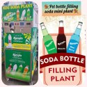 Mini Soda Bottle Filling Plant