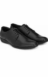 Black Men Vithariya Formal Shoes, Size: Medium