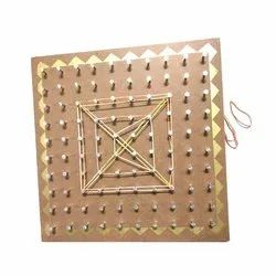 Geometrical Pin Board  Travel Toy
