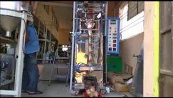 Banana Chips Packing - Double Head Packing Machine