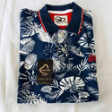 Cotton Casual Wear Men Printed Collar T Shirt