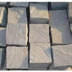 Outdoor Brown Sandstone Cobbles, 2kg, for Pavement